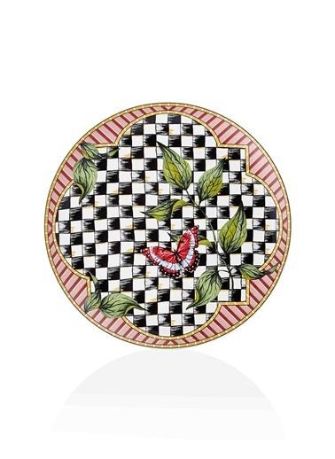 The Mia Jardin Servis Tabağı 6 Lı Set - 26 cm Renkli